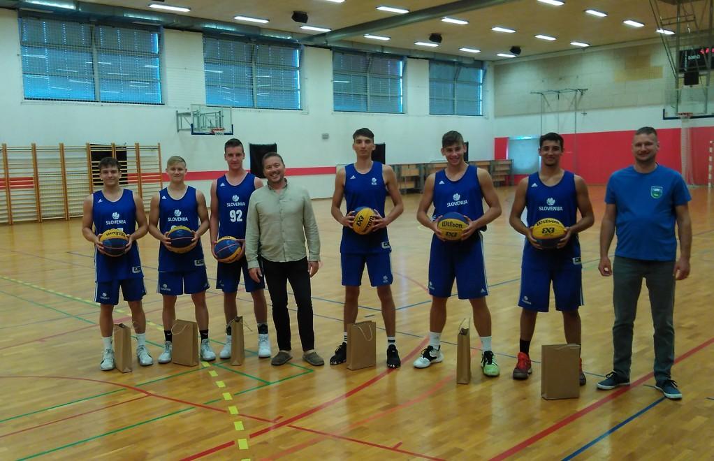 Priprave košarkarske reprezentance 1