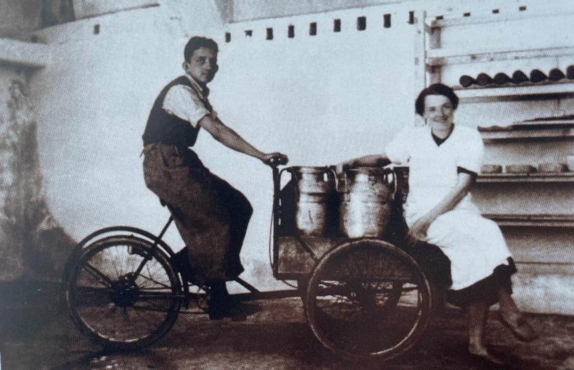 prevazanje mleka s triciklom